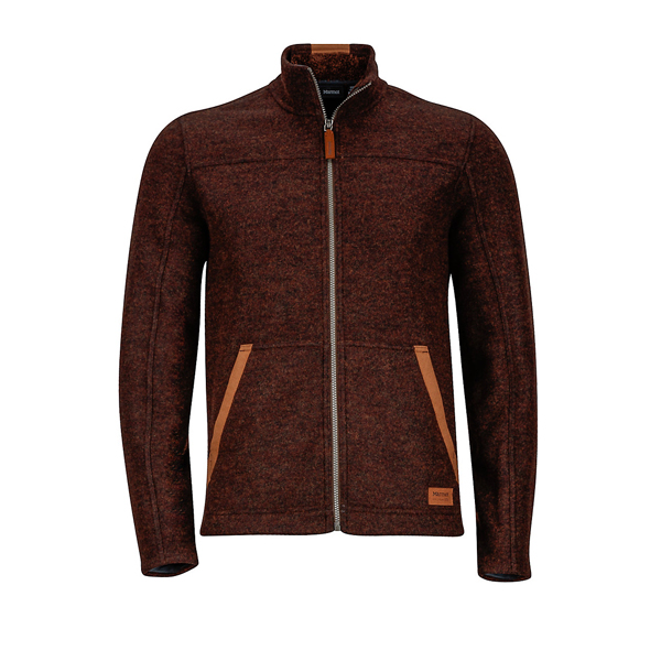 Dark Brown Heather Marmot Men Bancroft Jacket Online Store