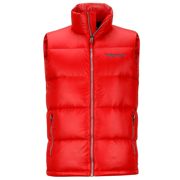 Men Marmot Stockholm Vest Rocket Red Outlet Online