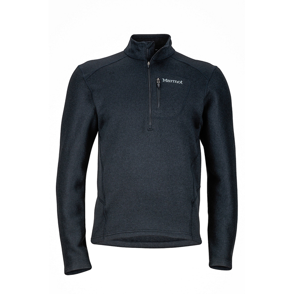 Black Marmot Men Drop Line 1/2 Zip Online Store