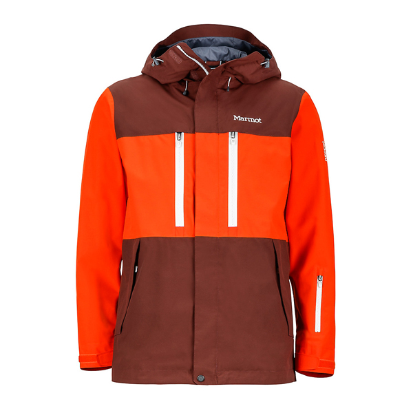 Marsala Brown/Mars Orange Marmot Men Sugarbush Jacket Online Store