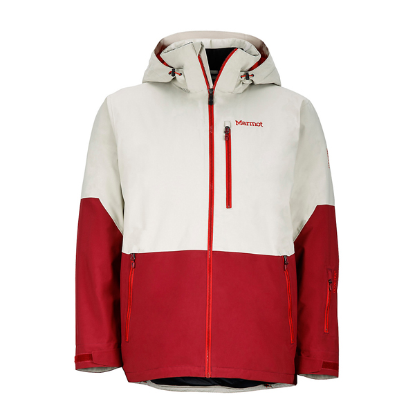 Men Marmot Contrail Jacket Pebble/Brick Outlet Online